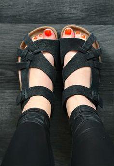 birkenstock sandals UNUSUAL DESIGN! THESE LOOK SO COMFORTABLE!!!
