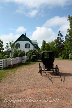 Green Gables House  Prince Edward Island Canada  5x7 by PatsyAnns, $15.00