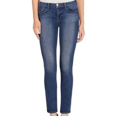 J Brand Skinny Jeans The quintessential skinny jeans. Medium wash. A bit faded/distressed, still look classy, no rips. Can be dressed up or down. So versatile. Pricing negotiable. Pre-loved, minimal signs of wear. Smoke and pet free home. 98% cotton. Small imperfection/scuff in crotch area (pictured), not noticeable when wearing J Brand Jeans Skinny
