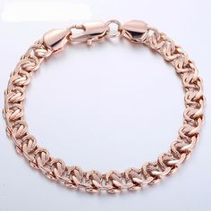 6-7 MM Natural Freeform forme Blanc Perle Plaqué Or Double Chaîne Bracelet 7/""