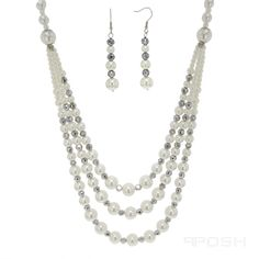 Global Wealth Trade Corporation - FERI Designer Lines Silver Pearls, Silver Rings, Necklace Set, Beaded Necklace, Jewelry Sites, Selling On Pinterest, Engraved Rings, Opal Rings, Passion For Fashion