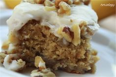Toriology ~ Banana Cake with Cream Cheese Frosting  Super, duper moist and so so good!!!