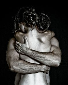 There is a quality about this photo that I love - the safety and vulnerability of an embrace between lovers