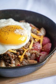 low carb breakfast bowl angle