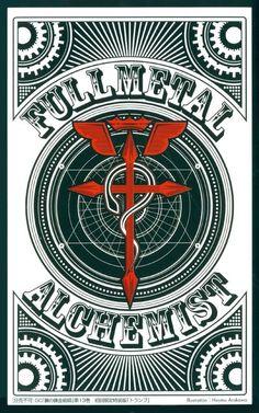Fullmetal Alchemist Playing Cards: Back