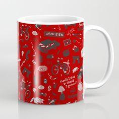 Stranger Things Plot Pattern Mug ~ $15 ~ Christmas Gift Ideas! Stranger Things Gifts, Christmas Gifts, Gift Ideas, Mugs, Tableware, Pattern, Xmas Gifts, Christmas Presents, Dinnerware