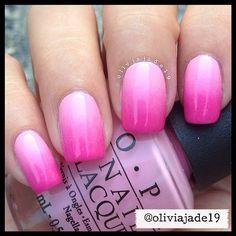 Polishes: OPI Pink Friday and OPI Shorts Story