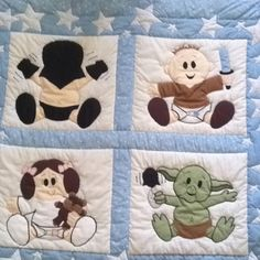 Awesome star wars baby blanket!