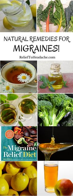 Natural Migraine Remedies!  Find books, bands, essential oils, diets, drinks, teas, medicines, herbs, and more that can help provide you headache and migraine relief.