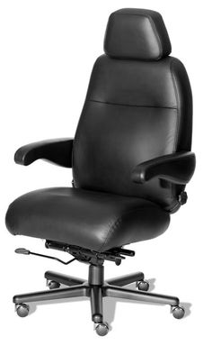 Henry 24 Hour Intensive Use Fabric Or Leather Chair By ERA Products   500  Lbs Rating