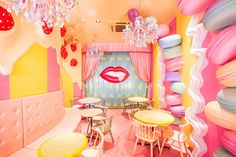 The over-the-top Kawaii Monster Cafe is a frenetic, colorful addition to Japan's cafe culture. Read more on Lights Online Blog.