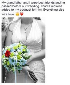 Wedding Memorial, Red Roses, Our Wedding, I Am Awesome, Bouquet, Blue, Dresses, Fashion, Vestidos