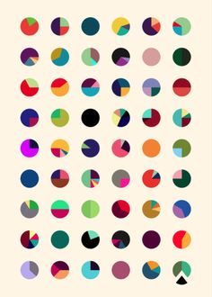 Creative Color, Design, Mstetson, Glorious, and Calendar image ideas & inspiration on Designspiration Pattern Dots, Doodle Pattern, Circle Pattern, Textures Patterns, Color Patterns, Print Patterns, Color Combinations, Color Schemes, Typographie Inspiration