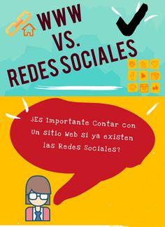 ¿Es Importante Contar con Un sitio Web si ya existen las Redes Sociales? #mottaconsultores #paginasweb  #diseñografico #seo #redessociales La Red, No Me Importa, Broadway, Socialism, To Tell, Small Businesses, Social Networks
