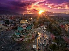 Sofia, Bulgaria - church Alexander Nevski