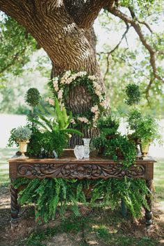 Lush Green Altar