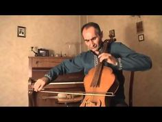 "Komitas Vardapet ""Horovel"" - (Ploughman's Song), performed by Manuk Harutyunyan on the Manjut  Manuk Harutyunyan is a professional cellist and he plays different classical and Armenian national string instruments and has also created a three string instruments."