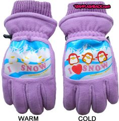 I remember getting these gloves at Christmas