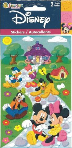 Disney Mickey Mouse and Friends Scrapbook Stickers PDMI12 >>> For more information, visit image link-affiliate link.