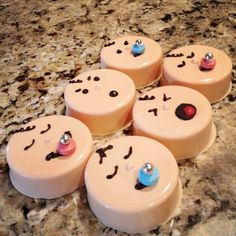 Baby chocolate covered Oreos