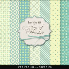 Far Far Hill: New Freebies Backgrounds Kit - Joys of Summer