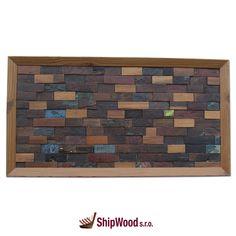 Ručně vyráběný obraz vyskládaný kousek po kousku ze dřeva vysloužilých lodí Dálného východu vsazený do kvalitního dřevěného rámu.   Rozměr obrazu 640 x 340 mm.  Součástí dodávky rámu (obrazu) je kovové očko vč. hřebíčků pro umístění na rám dle potřeb zákazníka.