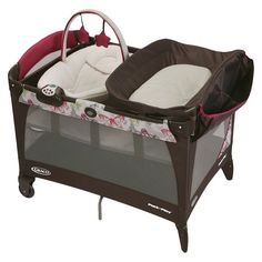 Graco Pack 'n Play Playard with Newborn Napper Station LX - Monarch