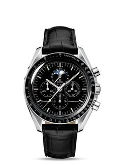 91f1a1bcf Discover the elegant style of the Speedmaster Moonwatch Steel watch (Ref.  3876.50.31
