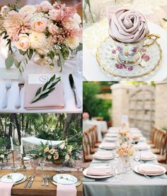 Blush Wedding Pro Tip: For tablescapes that look like they came straight of a storybook, using true blush napkins is key. Burlap Table Decorations, Wedding Table Centerpieces, Wedding Reception Decorations, Rose Wedding, Summer Wedding, Wedding Designs, Wedding Styles, Blush Weddings, Burlap Weddings