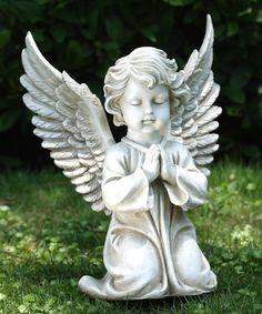 Loving this Kneeling Little Angel Statue on #zulily! #zulilyfinds