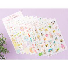 Sony Angel Dolls Mini Figure Deco Sticker Diary Letter Paper Cute Lovely Kawaii #SonyAngel #Transparentpaperstickers