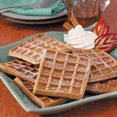 Gingerbread Waffles | Organic Recipe Book