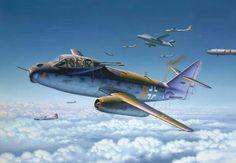 Messerschmitt Me P.1099B, heavy fighter. . .