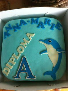 Taart dolfijn voor Anna-Marie