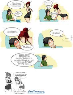 Living with hipster girl and gamer girl Ego Comics Story, Bd Comics, Anime Comics, Funny Comics, Jagodibuja Comics, Beste Comics, Hipster Girls, Gamer Girls, Funny Comic Strips