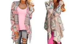 Groupon - Aztec Runway Cardigan: One ($ 19) or Two ($29). Groupon deal price: $19
