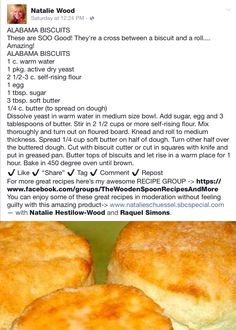 Homemade Biscuits Recipe, Biscuit Recipe, Easy Bread Recipes, Cooking Recipes, Scones, Muffins, Biscuit Bread, Achilles, Breakfast Dishes