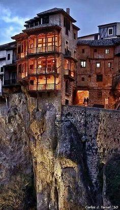 Casas colgadas. Cuenca. Spain
