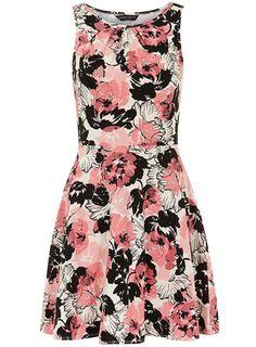 nice Floral print dress
