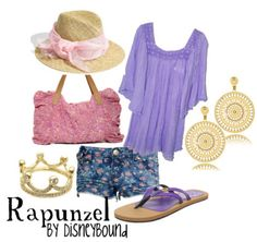 Rapunzel by DisneyBound (probably my favorite Rapunzel outfit)