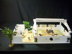 diy wir bauen einen schleich pferdestall reithalle frisuren pinterest schleich. Black Bedroom Furniture Sets. Home Design Ideas
