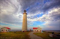 Cap-des-Rosiers Lighthouse.