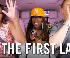 Dans le cadre de l'émission « Carpool Karaoké », Michelle Obama s'est livrée à un karaoké aux côtés de la rappeuse Missy Eliot