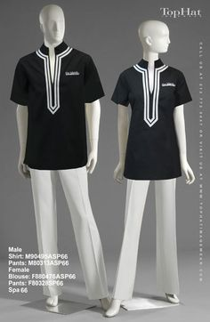 Stylish and fitted uniform for hotel manager uniforms for Baju uniform spa
