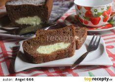 Skořicový chlebíček s tvarohovým středem recept - TopRecepty.cz Banana Bread, French Toast, Breakfast, Food, Morning Coffee, Essen, Meals, Yemek, Eten