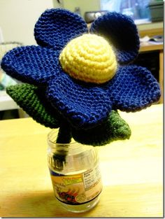 Crochet flower, really awesome #afs 7/5/13