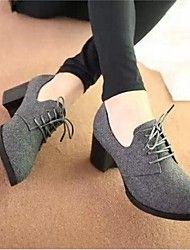 plataforma zapatos de tacones gruesos de las muje... – USD $ 24.99