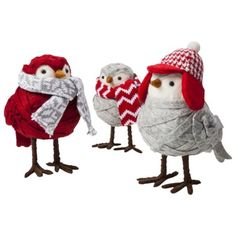 these are so cute!!!!!! would love a tree full of them..... Target Knit Birds