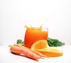 how to drink carrot juice for acne