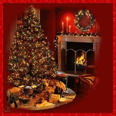animated christmas fireplaces | Christmas Fireplaces Pictures, Images & Photos | Photobucket